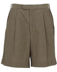 Kolor - Pleated Shorts - Lyst