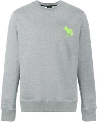 PS by Paul Smith - Zebra Embroidered Sweatshirt - Lyst
