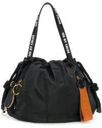 See By Chloé - Large Flo Shoulder Bag - Lyst
