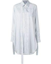 Loewe - Strap Oversize Striped Shirt - Lyst