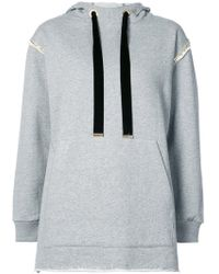 Mother Of Pearl - Gold Chain Detail Hoodie - Lyst