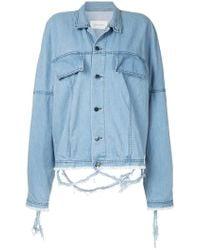 Strateas Carlucci | Oversized Denim Jacket | Lyst
