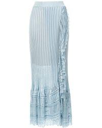 Cecilia Prado   Ribbed Maxi Skirt   Lyst