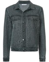 Ashish - Diamanté Embellished Denim Jacket - Lyst