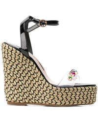 Sophia Webster - 'Dina Gem' Wedge-Sandalen - Lyst