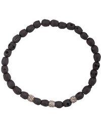 Loree Rodkin - Skull Beaded Bracelet - Lyst