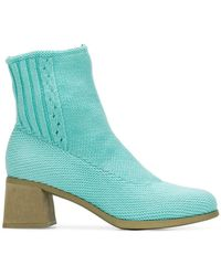 Camper - Knitted Ankle Boots - Lyst