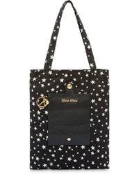 Shop Women s Miu Miu Totes and shopper bags Online Sale ea581b6557fcb
