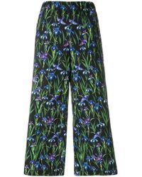 Vivetta - Floral Wide Leg Trousers - Lyst