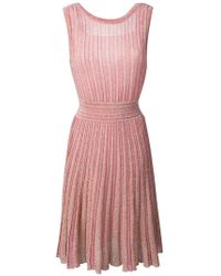 Missoni - Knitted Glitter Dress - Lyst