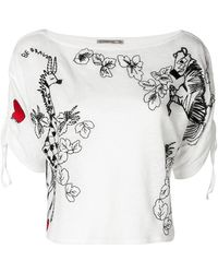 Patrizia Pepe - Embroidered Top - Lyst