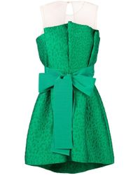 P.A.R.O.S.H. - Oversized Bow Dress - Lyst