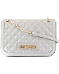 48374c7f42b Lyst - Love Moschino Classic Quilted Shoulder Bag in Black