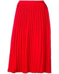 Sofie D'Hoore - Pleated Midi Skirt - Lyst