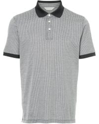 Gieves & Hawkes - Patterned Polo Shirt - Lyst