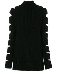 Zoe Jordan - Locke High Neck Cut-out Jumper - Lyst