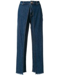 AALTO - Cropped Jeans - Lyst