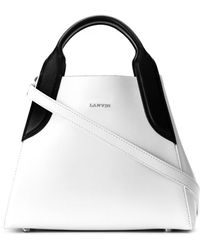 Lanvin - Mini Cabas Tote Bag - Lyst
