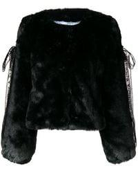 Shrimps - Gabriel Faux Fur Cropped Jacket - Lyst