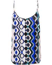 Emilio Pucci - Camiseta de tirantes con estampado geométrico - Lyst