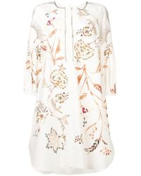 Dorothee Schumacher - Floral Print Midi Dress - Lyst