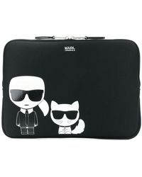 Karl Lagerfeld - Ikonik Laptop Bag - Lyst