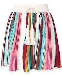Laneus - Full Short Skirt - Lyst