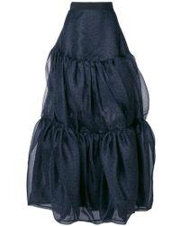 Maison Rabih Kayrouz - Full Maxi Skirt - Lyst