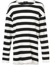 Undercover - Striped Sweater - Lyst