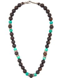 Roman Paul - Beaded Necklace - Lyst