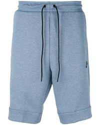 Nike - Tech Fleece Shorts - Lyst