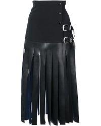 Toga - Fringe Skirt - Lyst