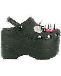 Balenciaga - Charm Platform Sandals - Lyst