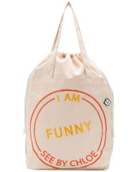See By Chloé - Sac cabas I Am Funny - Lyst 67d868c3e7e