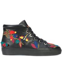 Laurence Dacade - Embroidered Hi-top Sneakers - Lyst