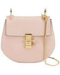 Chloé - Cement Pink Drew Shoulder Bag - Lyst