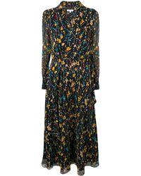 Equipment - Robe mi-longue à fleurs - Lyst