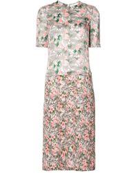Julien David - Floral Print Dress - Lyst