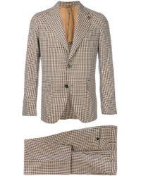 Gabriele Pasini - Checked Two-piece Suit - Lyst
