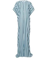 TOME - Oversized Striped Jumpsuit - Lyst