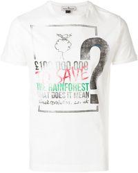 Vivienne Westwood   Save Then Rainforest T-shirt   Lyst