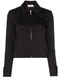 Wales Bonner - Checked Sleeve Sports Jacket - Lyst