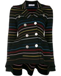 Sonia Rykiel - Striped Double Breasted Jacket - Lyst