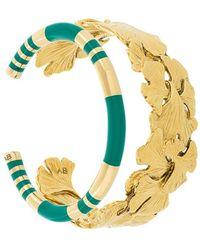 Aurelie Bidermann Tangerine And Positano Set Of Bracelets