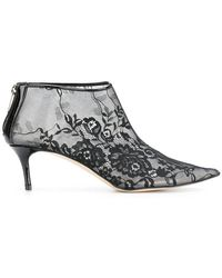 Christopher Kane - Plastic Lace Ankle Boot - Lyst