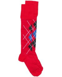 Versace - Argyle Socks - Lyst