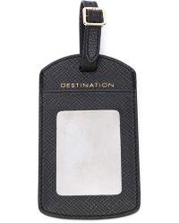 Smythson - Luggage Tag - Lyst