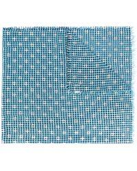 Faliero Sarti | Checked Polka-dot Scarf | Lyst