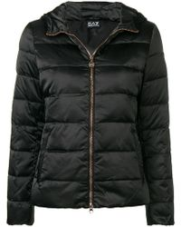 EA7 - Classic Padded Jacket - Lyst