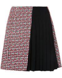 Mugler - 'jupe' Asymmetric Skirt - Lyst